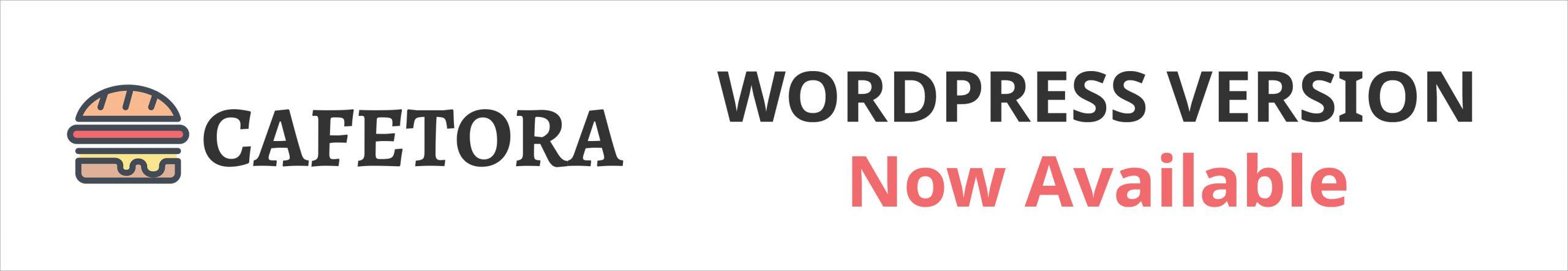 Cafetora WordPress version